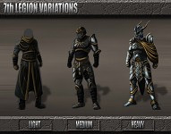 7th Legion Commander Armor Set