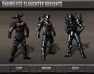 Shameless Slaughter Armor Set