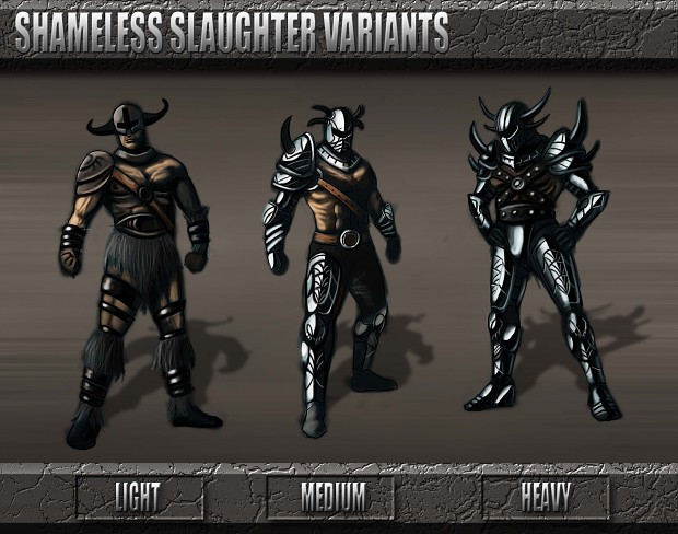 Shameless Slaughter Armor Set