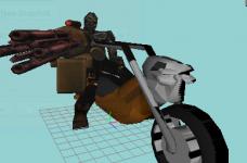 Reaper concept model