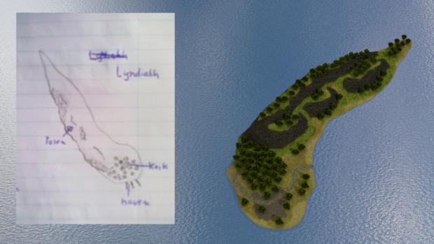 Lyndiath :: Island