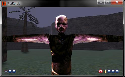 Mutant Model (Temp Skin)