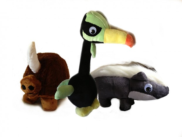 Towns plushies for the contest