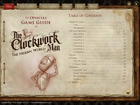 The Clockwork Man 2: Official Game Guide Index
