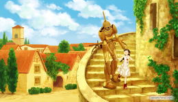 The first promotional art
