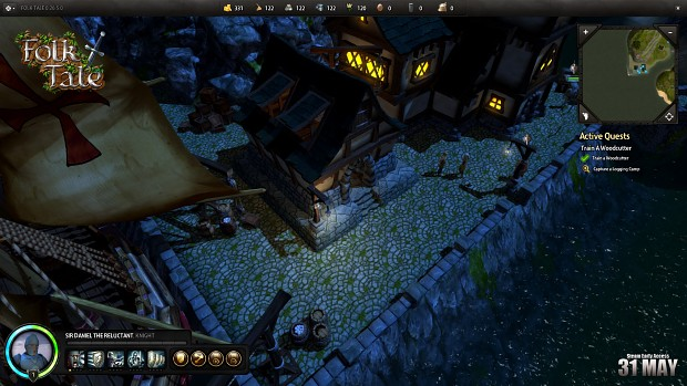 Folk Tale Screenshot: Down On The Docks