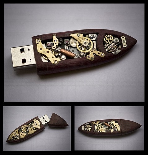 Steampunk Flash Disk