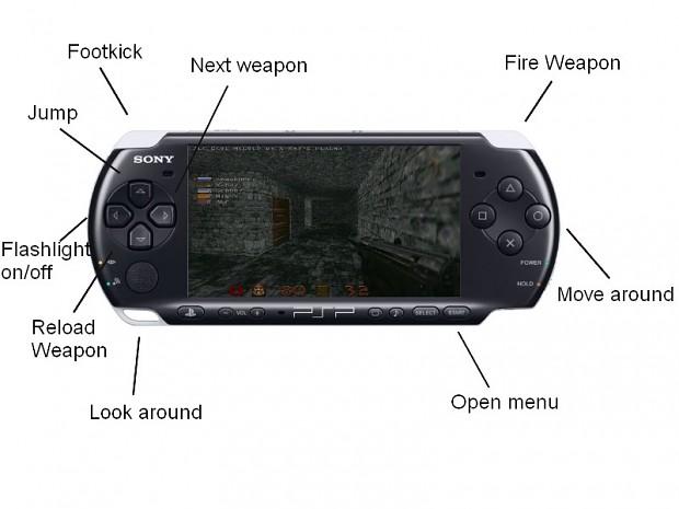 PSP Button setup