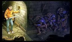 Goblins ambush Dani
