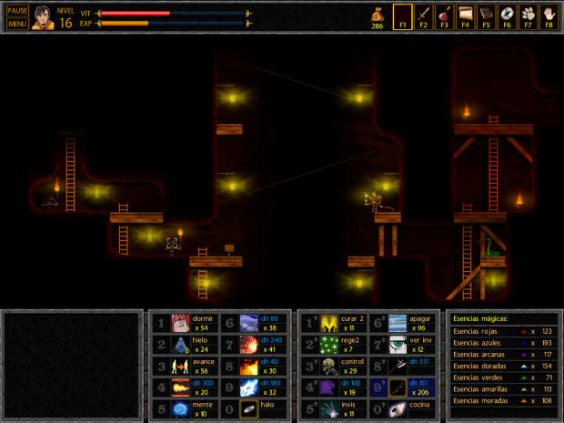 Screenshots of Unepic