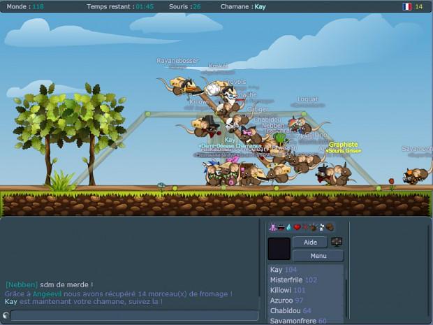 Transformice gameplay