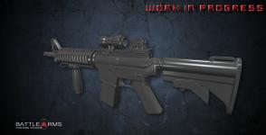 M4A1 W.I.P