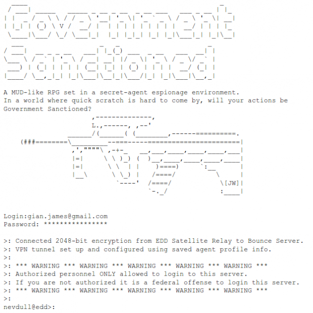 Government Sanctioned Login Example