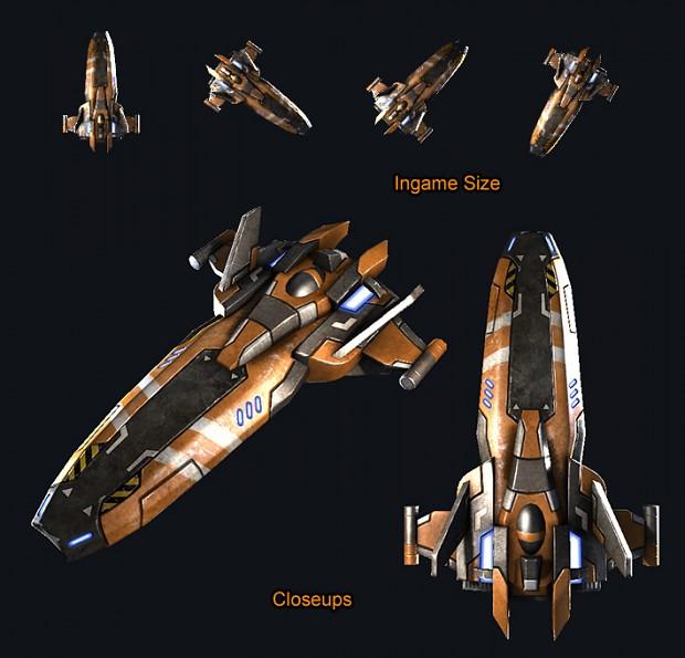 Ship Examples -- Trade Ship