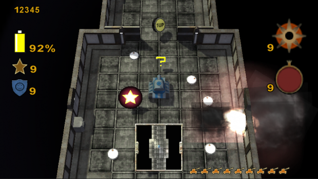 Tank Crush - Eviction - Wii U - Screenshots