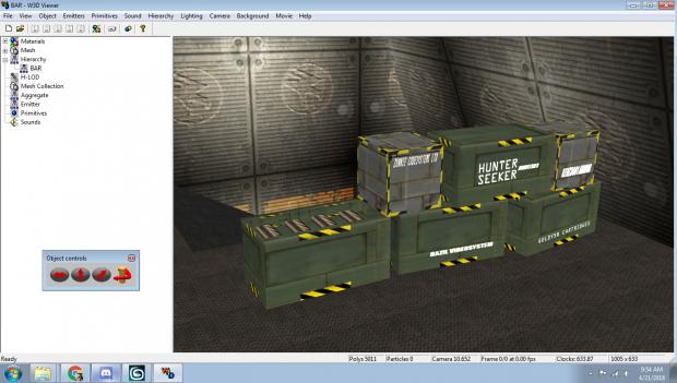 GDI Barracks Interior Crates