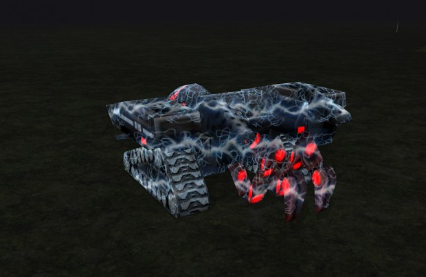 Updated Nod Flame Tank and Nod Harvester