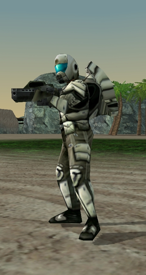 gdi commando in game image - tiberium crystal war