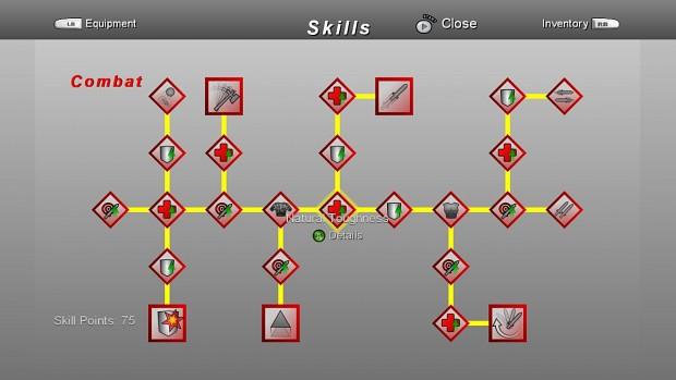 Combat Skill Tree