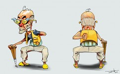 Old Man KIA  -  Concept art