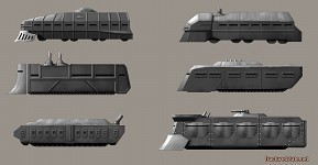 Industrial troop transport concepts