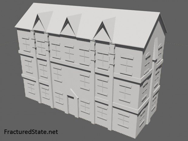Early Tenement Building Model