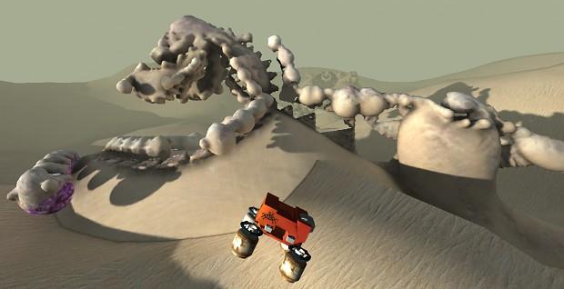 Dessert Details - Crashed Lander