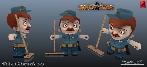 Monster of Puppets - Charlie modelsheet