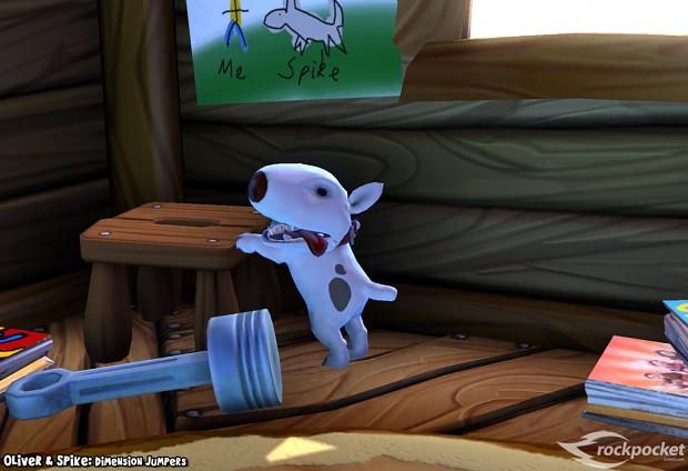 More Oliver&Spike Screenshots