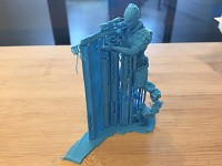 Intruder 3d Print Fail (Win?)