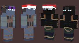 Intruder Minecraft Skins