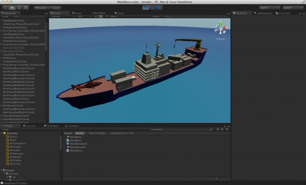 Player made cargo ship level