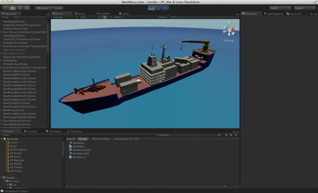 Player made cargo ship level