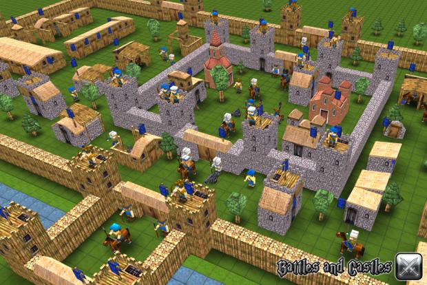 Build your own castle :)