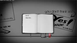Diary's evolving