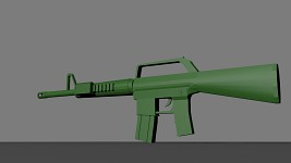 Green Assault Rifle