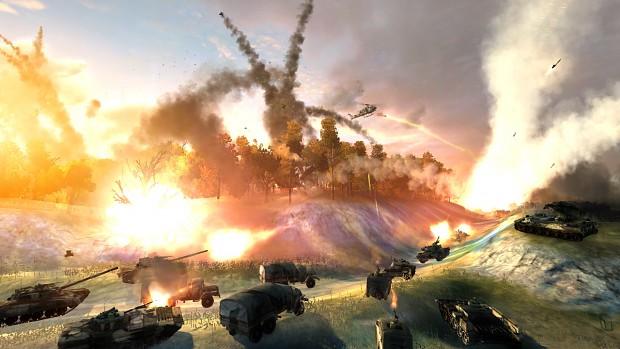 Explosive combat