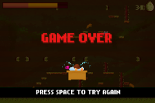 OTSOA game over screen