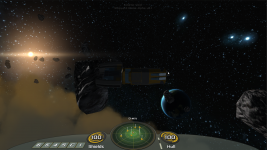 Another version of the sector HUD.