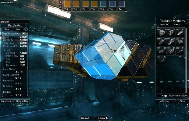 Kinetic Void D10 Shipyard