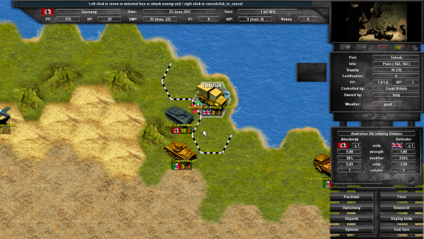 Attack on Tobruk