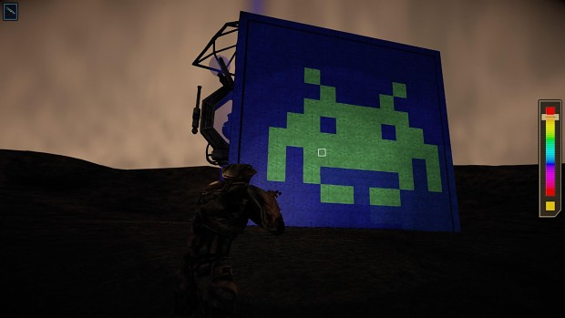 Paint-Gun Pixel Art