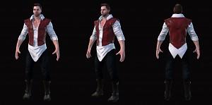 Traeven character model
