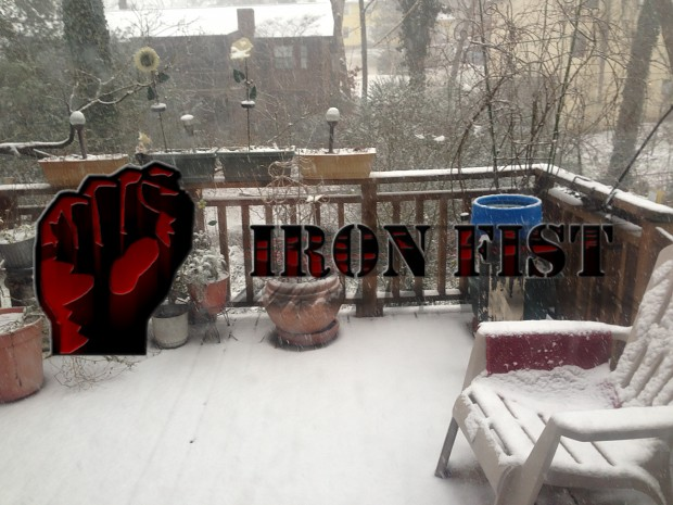 Late Seasons Greetings from Iron Fist!