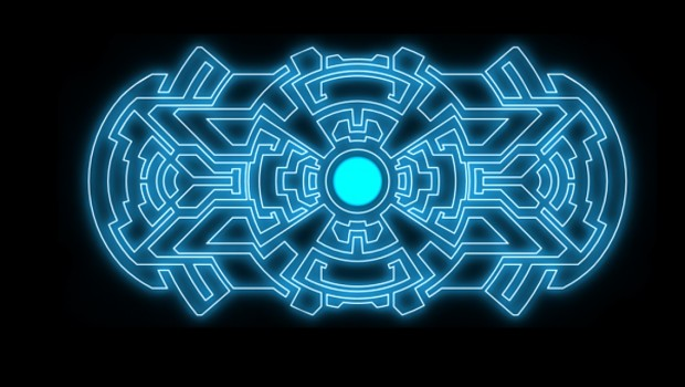 Tron style meter