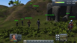 Some early multiplayer screens