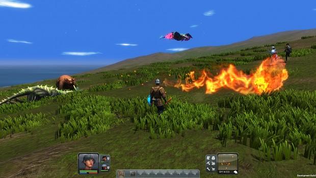 NPC combat screens