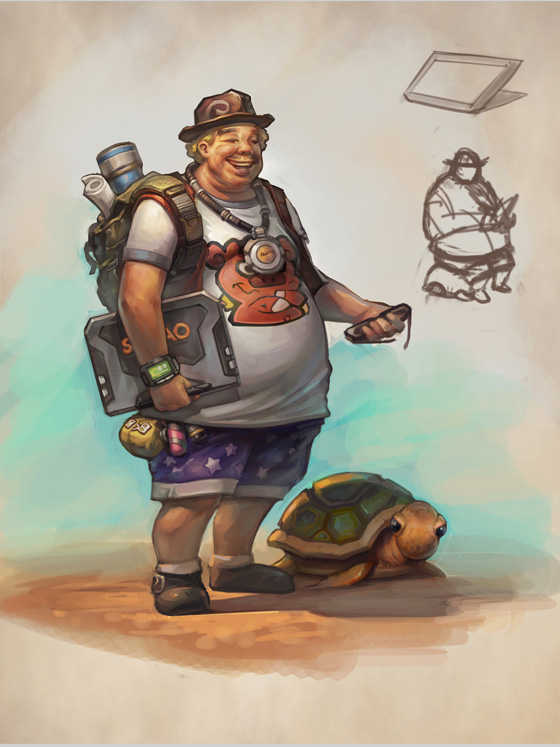 New character concept art