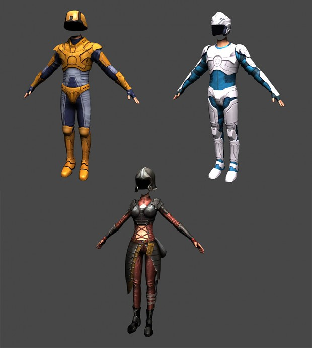 New armor for Planet Explorers