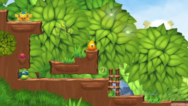 New Toki Tori 2 screenshots